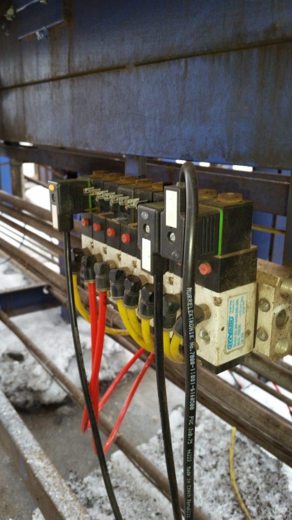 Equipment repair, automated equipment repair, control system repair, pneumatic system repair and maintenance