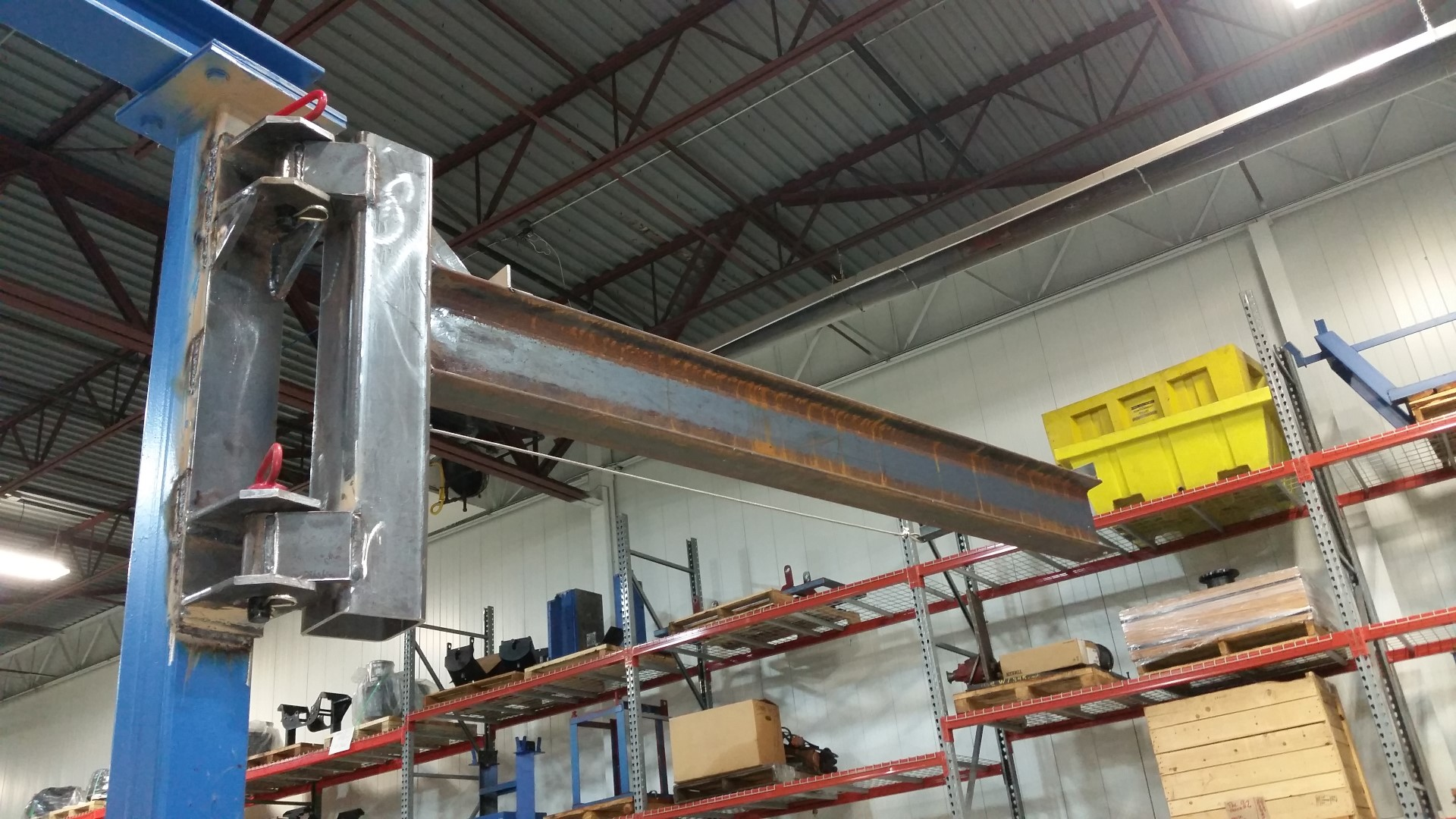 industrial fabrication, steel fabrication, on-site fabrication, mobile welding