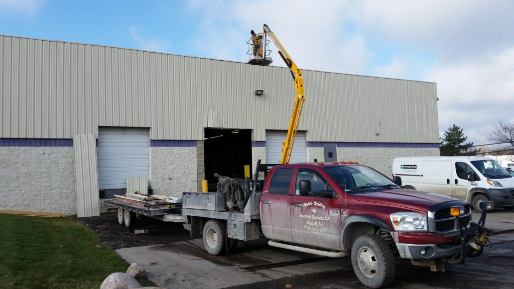 Steel building repair, metal building repair, Metal building retrofit