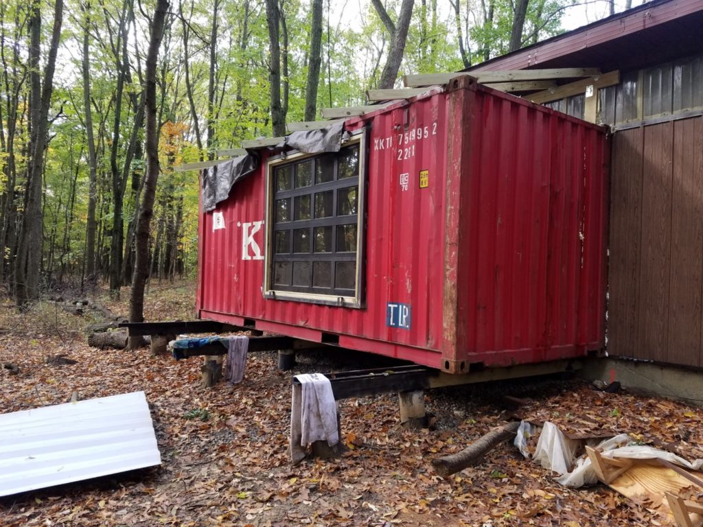 shipping container house, shipping container modification,