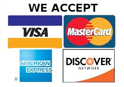 How do you accept credit cards?