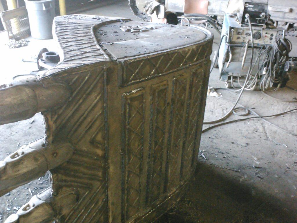 hardfacing, excavator bucket repair, loader bucket repair, bucket rebuild, heavy equipment welding