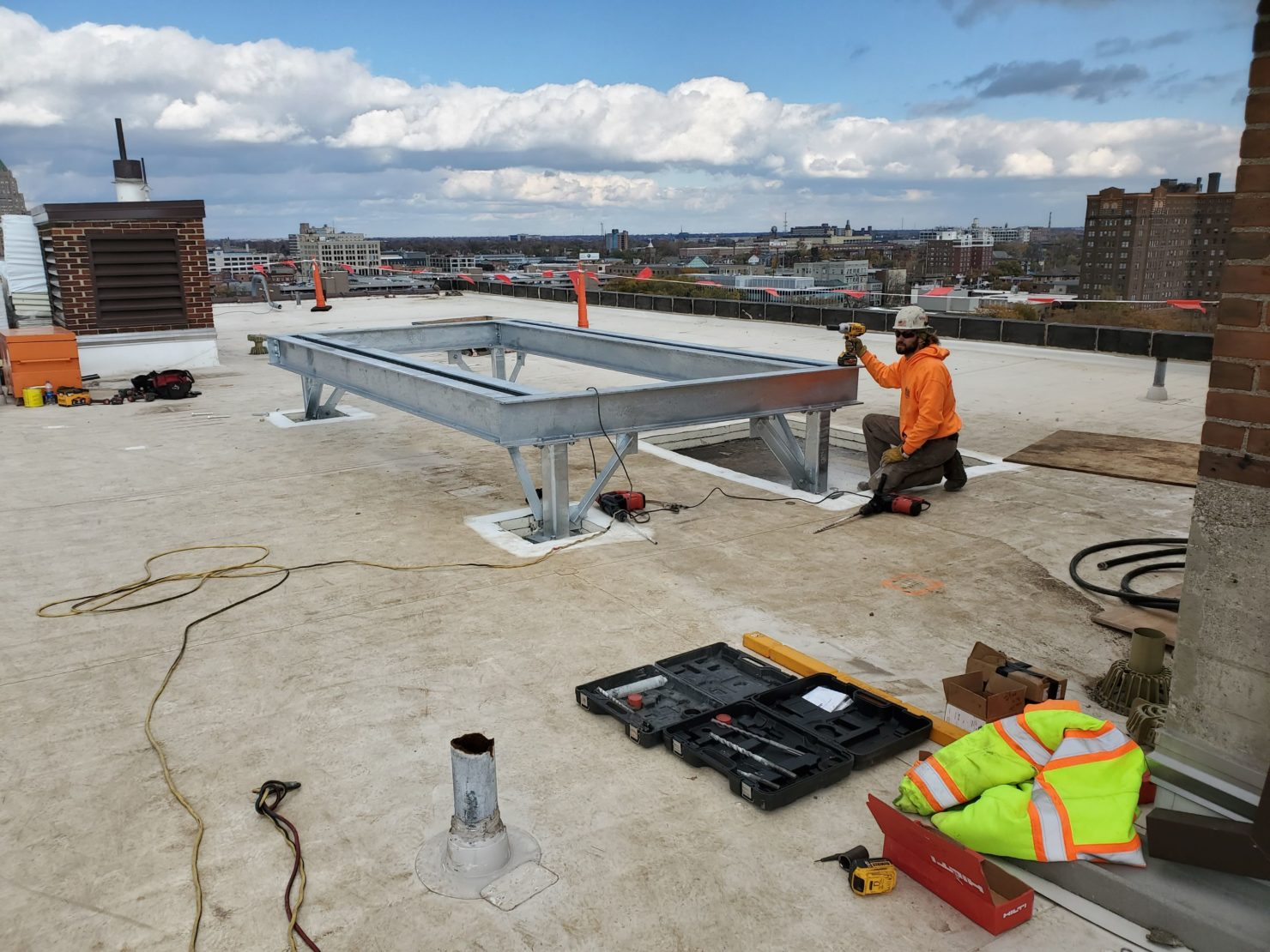 Rooftop Equipment Platform